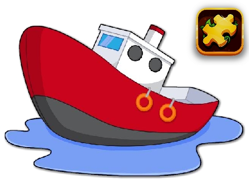 Cartoon Ship Puzzle