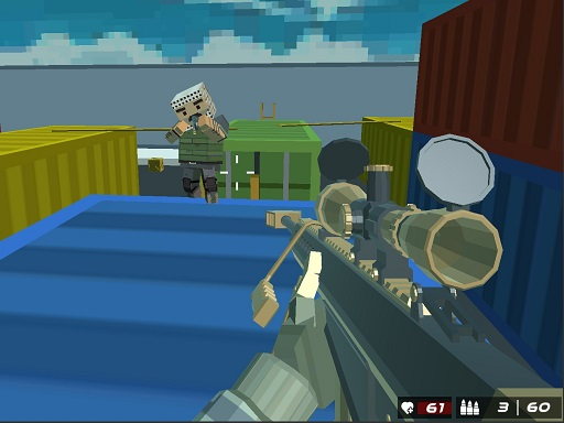 Shooting Blocky Combat ...