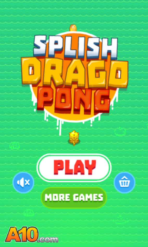 Splish Drago Pong online hra